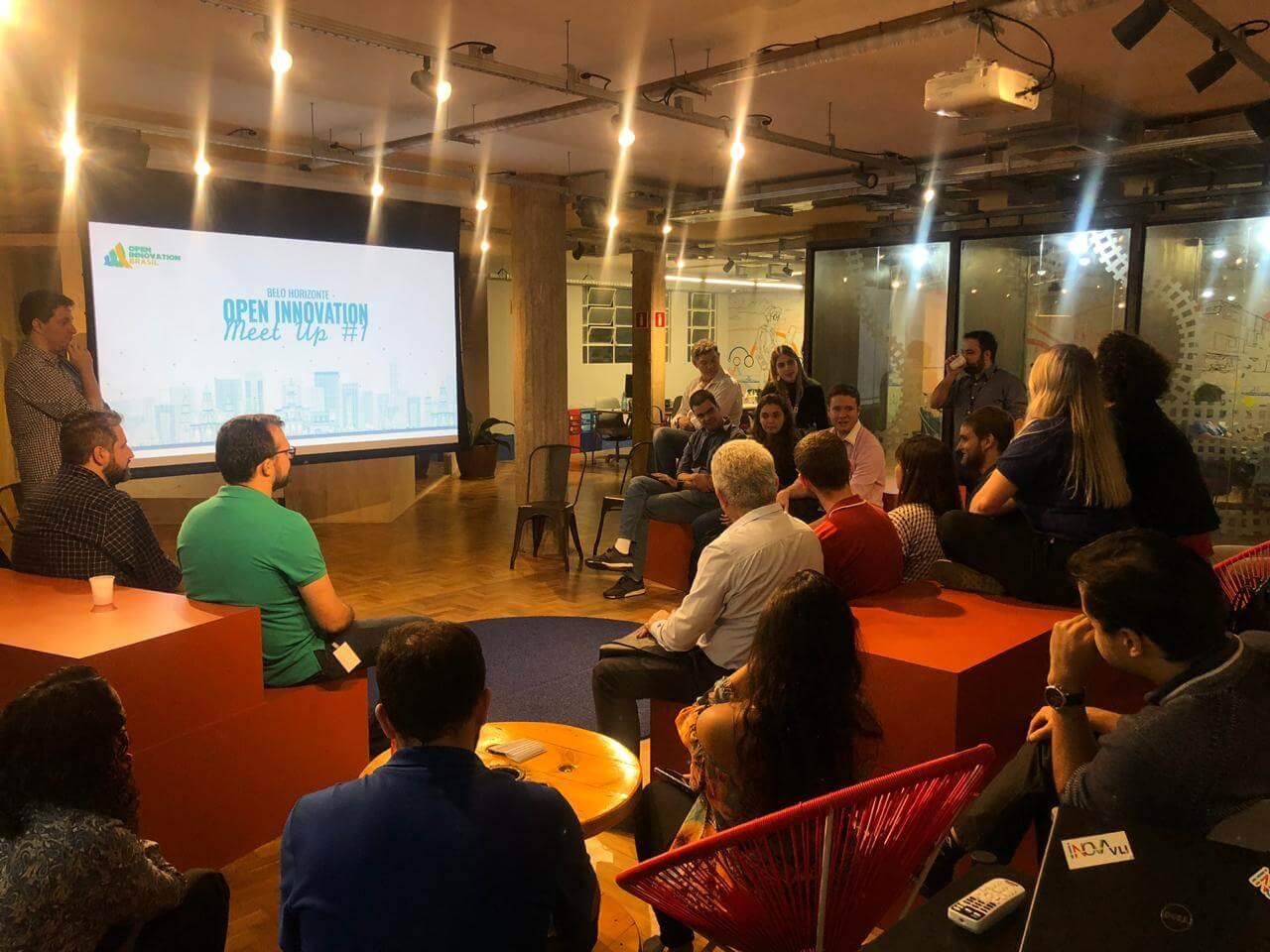 Meetup do Open Innovation BR em BH